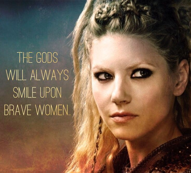 The Gods always smile upon brave women. Yes they do! rene briggs